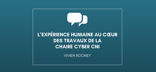 Etudier l'expérience humaine Vivien Rooney