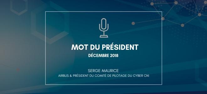 Serge Maurice – le mot du président – décembre 2018