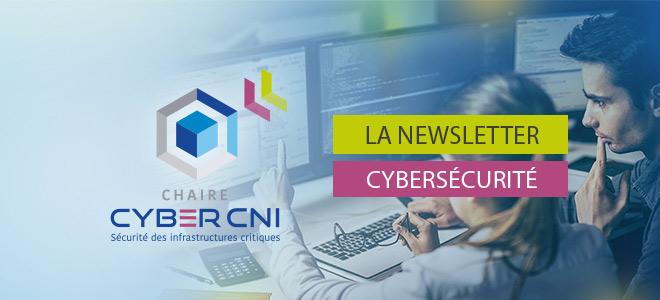 La Newsletter Cybersécurité n°3