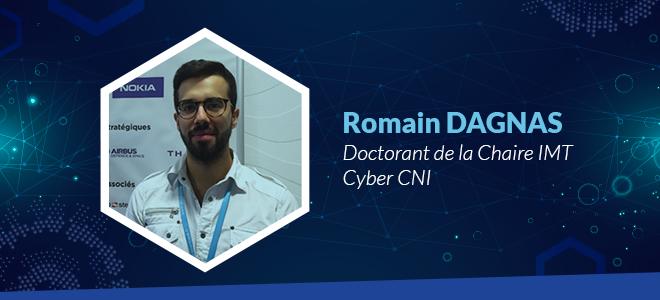 Romain Dagnas, doctorant de la Chaire IMT Cyber CNI