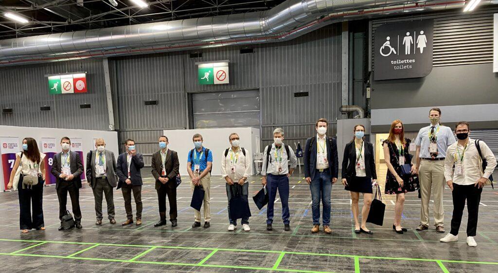 La Chaire Cyber CNI d'IMT Atlantique accueille une délégation francoallemande pour une visite exceptionnelle du salon Viva Technology