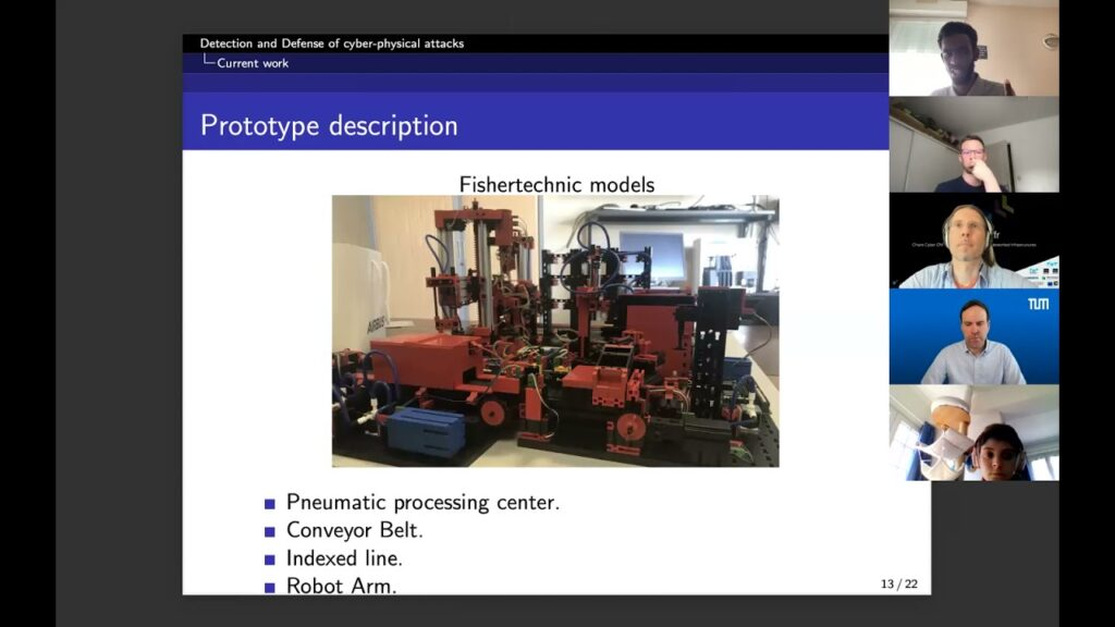 [RU1/21] Awaleh HOUSSEIN, Automated learning and handling of Cyber-Physical Attacks