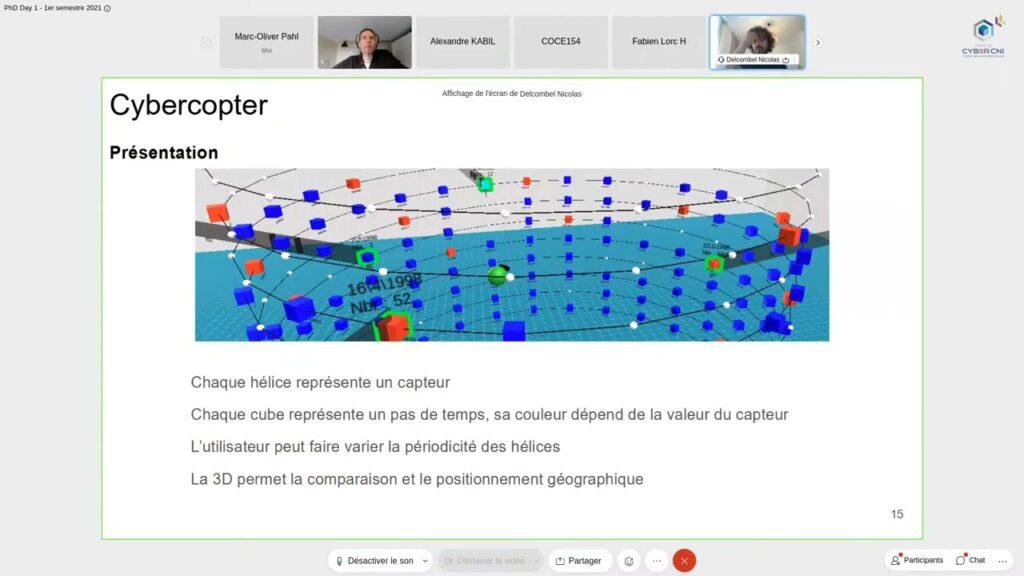 [RU1/21] Nicolas DELCOMBEL, Virtual Reality for Cyber Security