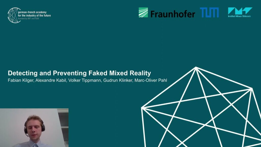 TRUE-view project at FakeMM 2021: Detecting and Preventing Faked Mixed Reality
